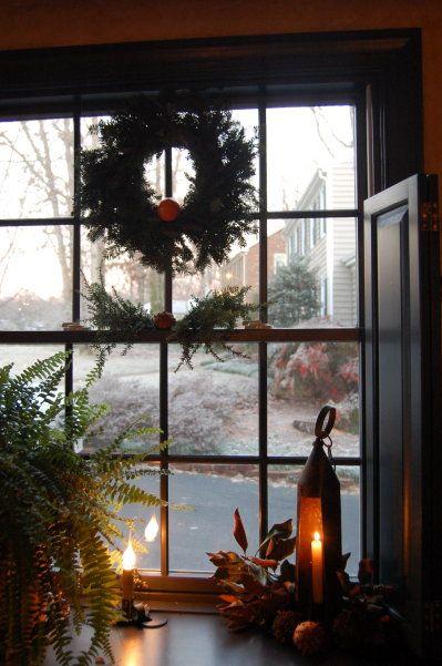ideas for log room window ledge