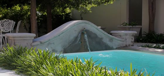Exclusive Via La Moda heart and leaf keyrings can be found at Franschoek's Maison D'ail  Escape to the tranquility of this newly established guesthouse  Phone +2721 8762130  http://www.facebook.com/pages/Maison-dAil/191867524172938