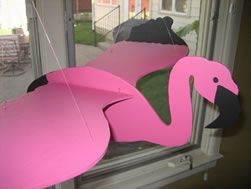 How to make a flapping bird mobile