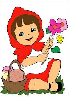 Clip Art Little Red Riding Hood Clipart little red riding hood clip art kleuterklas roodkapje pinterest illustraties kunst en roodkapje