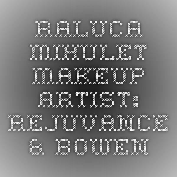 Raluca Mihulet. Makeup Artist: Rejuvance & Bowen