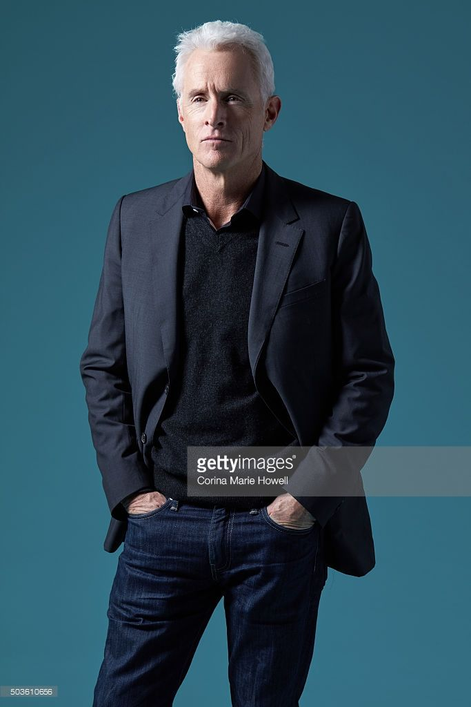 Actor John Slattery is Photographed for 'The Wrap' on (December 1, 2015) in New York City.