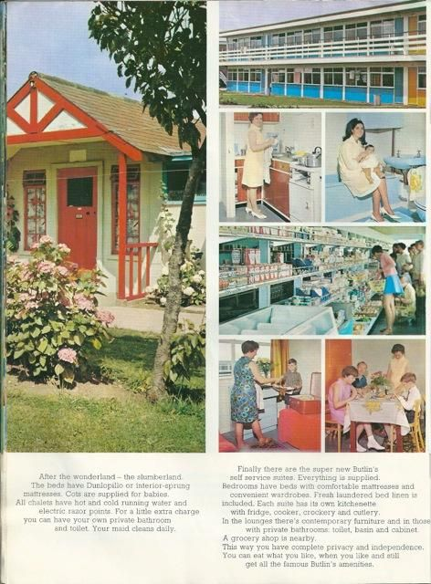 Late 1960s Butlins Brochure