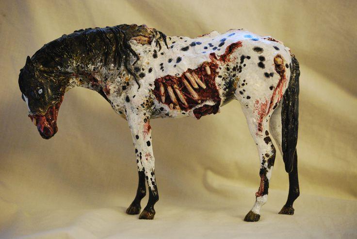 bryer horse   Pale Horse Studios death breyer model horse