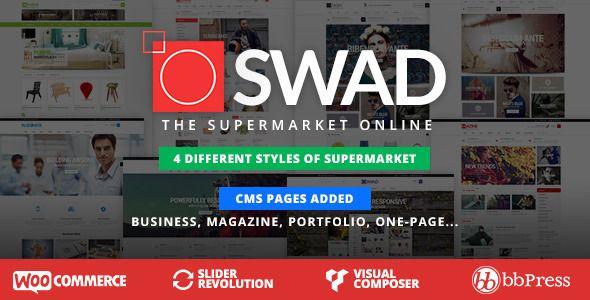 Oswad v1.0.5 – Responsive Supermarket Online Theme