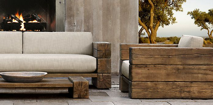 RH Outdoor Furniture Collection Spring 2013
