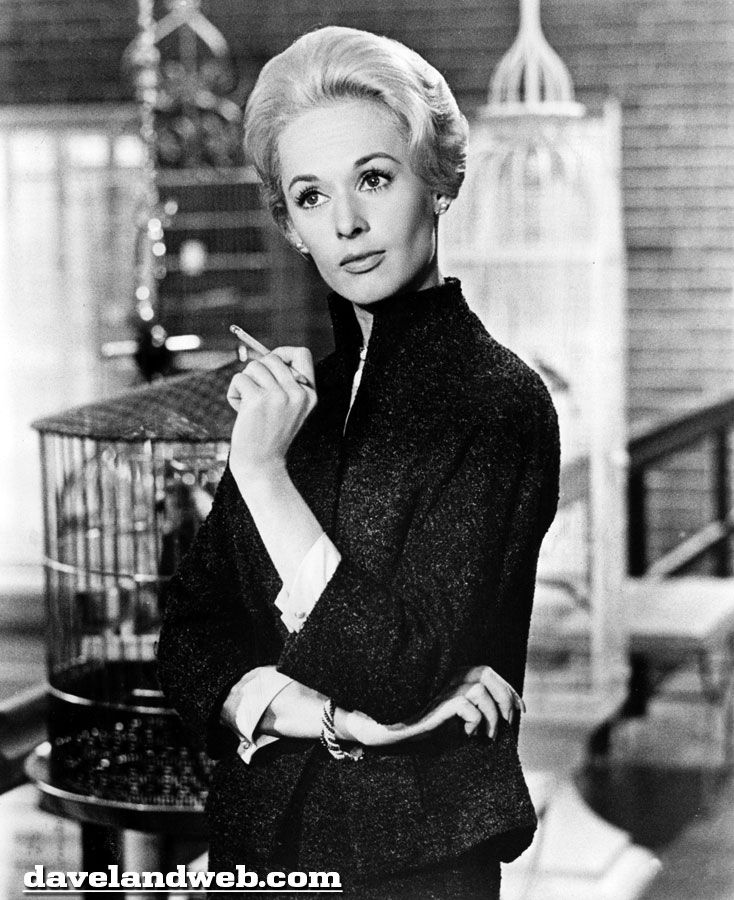Tippi Hedren's costumes in Marnie by Edith Head were absolutely gorgeous.