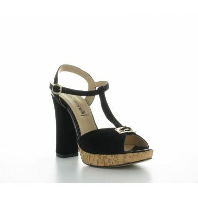 Sandalo in camoscio by Morelli #scarpe #donna #italianshoes