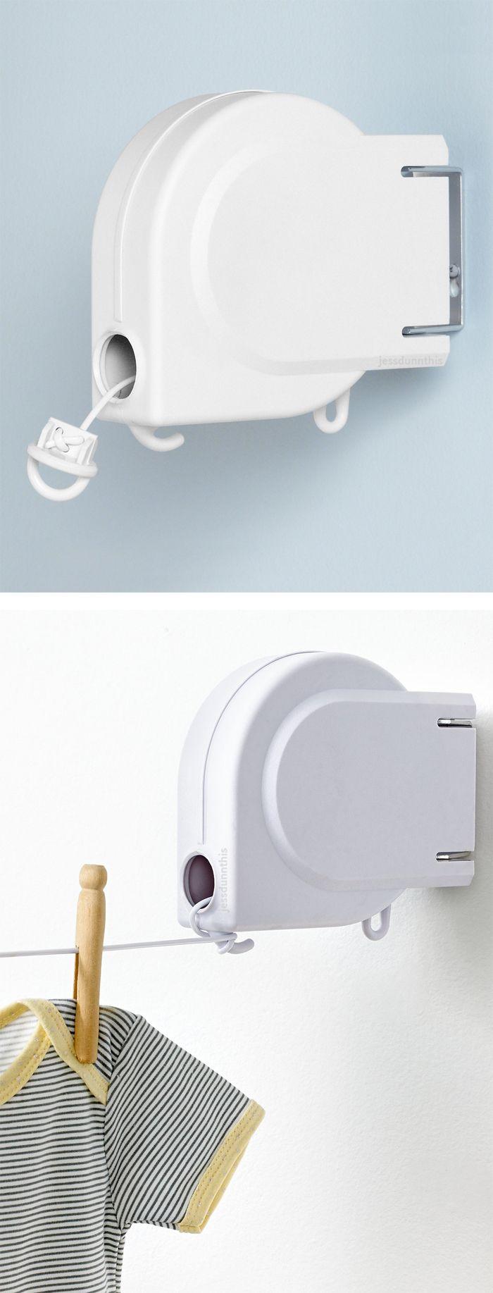 Retractable clothesline #product_design