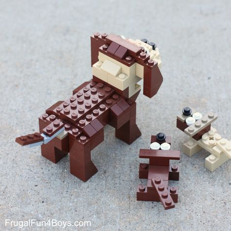 How to Build LEGO Dogs