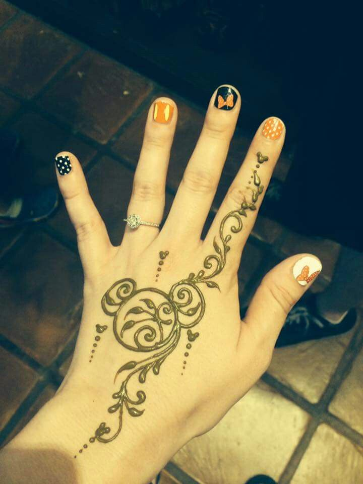 Perfect henna for a Disney Cruise