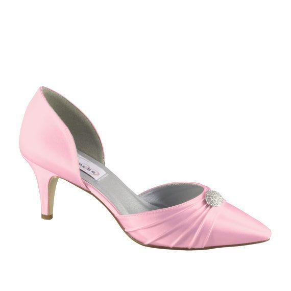 Pink 2 Inch Heels | Tsaa Heel