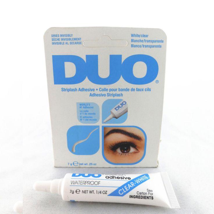 2pcs Water Proof False Eyelash Extension Glue Adhesive Eyelash Glue For Fake Eyelashes Lashes For Building Dark/White Maquiagem