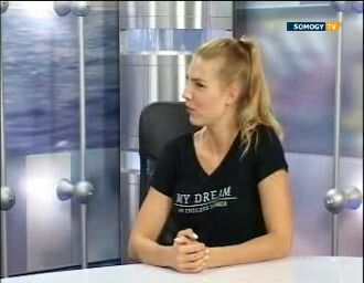 Talking about diabetes and healthy lifestyle in Somogy TV.