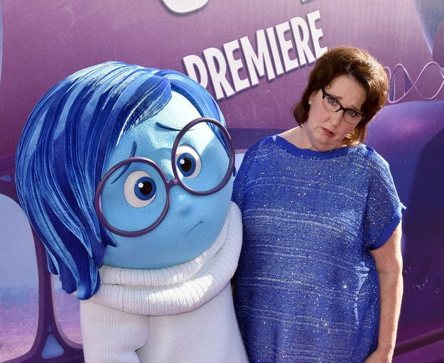 Phyllis Smith | 39 Stars We Couldn't Get Enough Of In 2015, I've met her, she's a very nice lady.