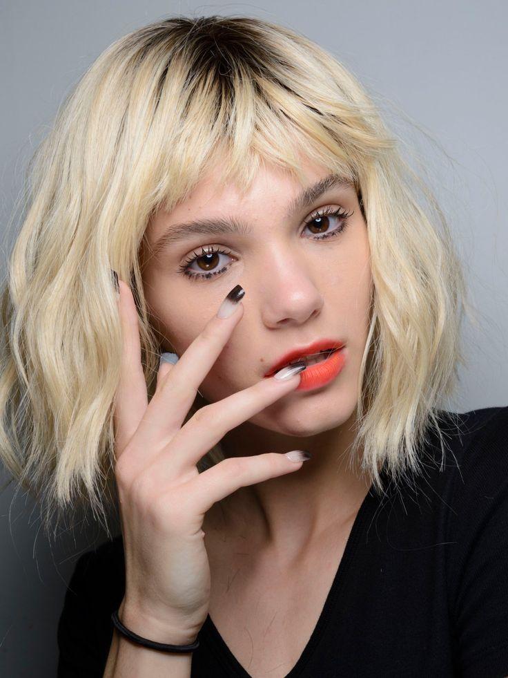 Ombré Nails während der Fashion Week New York bei Georgine