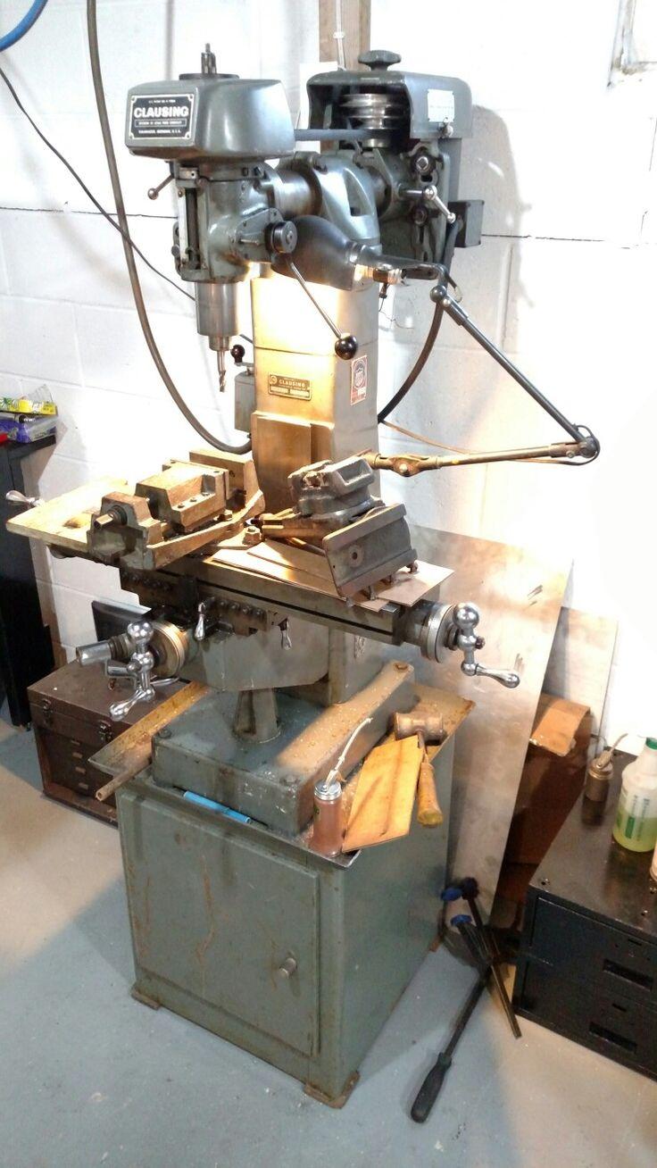 Clausing 8520 Milling Machine Milling Machine Machine