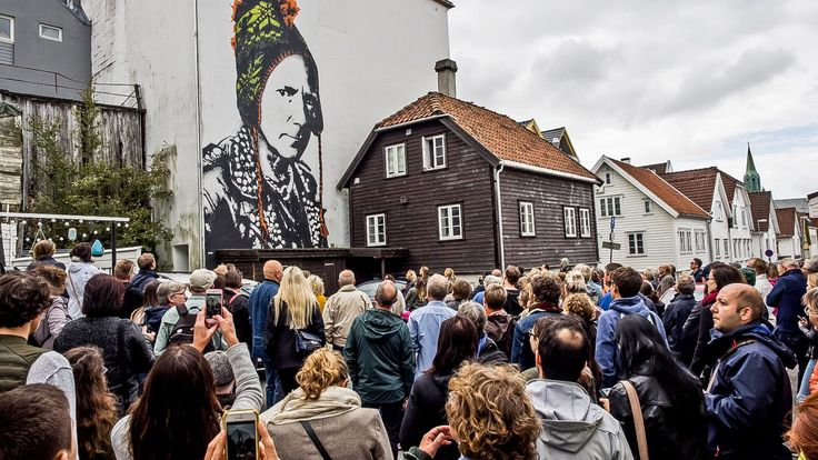 "Nuart seeking walls in Oslo: ""We want to make Oslo an art city - Aftenposten"