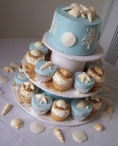 Jennifer from my work is making this cake for my sister-in-laws bridal shower.  Gorgeous!