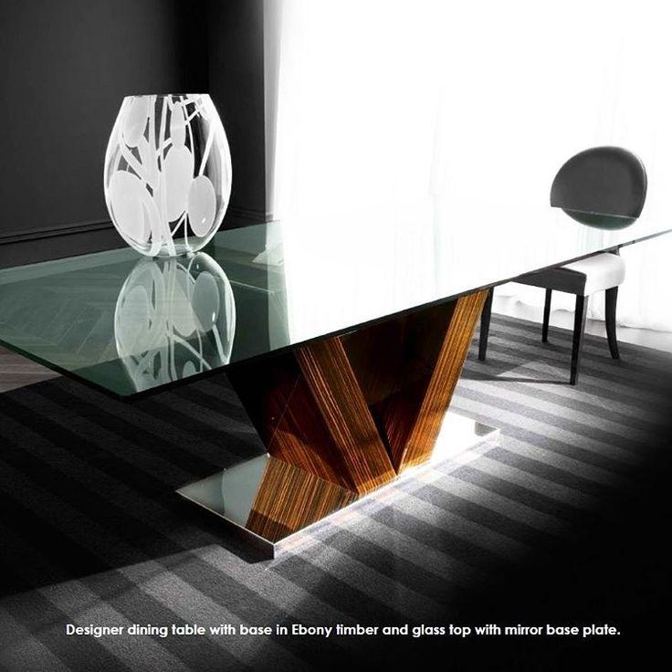 Minimalist Dining Table www.sovereigninteriors.com.au