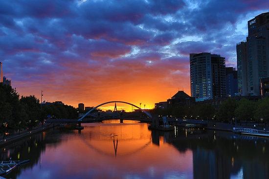 Melbourne Autumn Sunrise