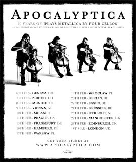 Long Live The Loud 666: APOCALYPTICA 20 YEARS OFPLAYS METALLICA BY FOUR CE...