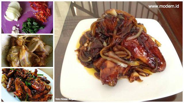 Resep Ayam Goreng Mentega dengan Saus Kental yang Meresap