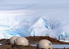 s tiny domed podsLuxury campsite in Antarctica offer