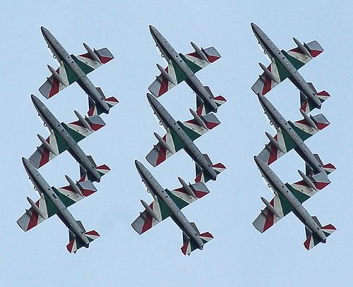 Frecce Tricolori Italian Air Force