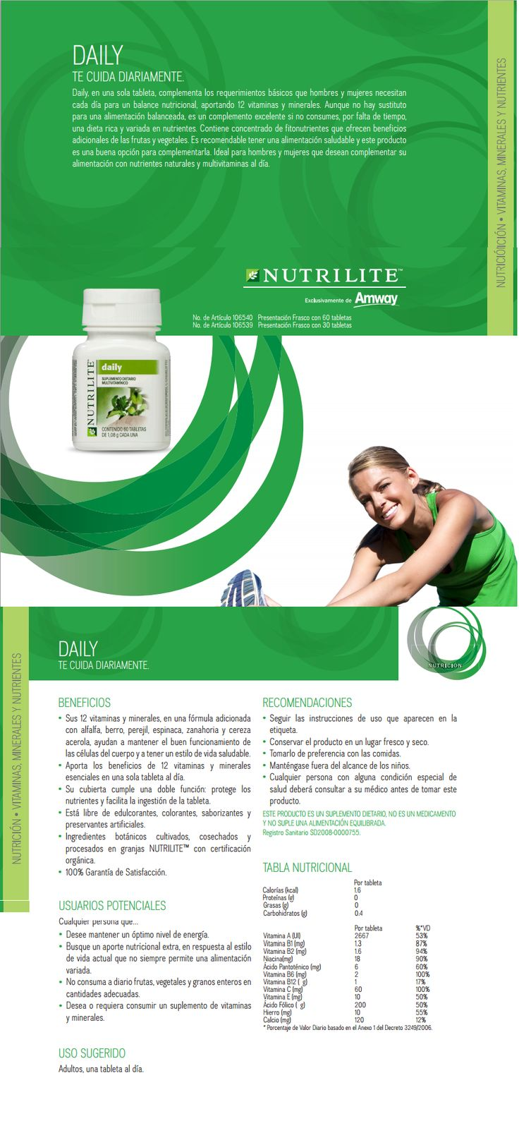 18 best images about Amway Nutrilite Vitaminas 100%