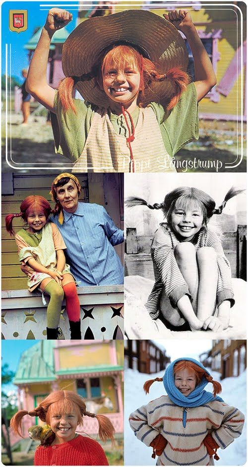 Sweden's Pippi Longstocking. I watched The TV show in Germany. I wish I could get it now. The best ever.