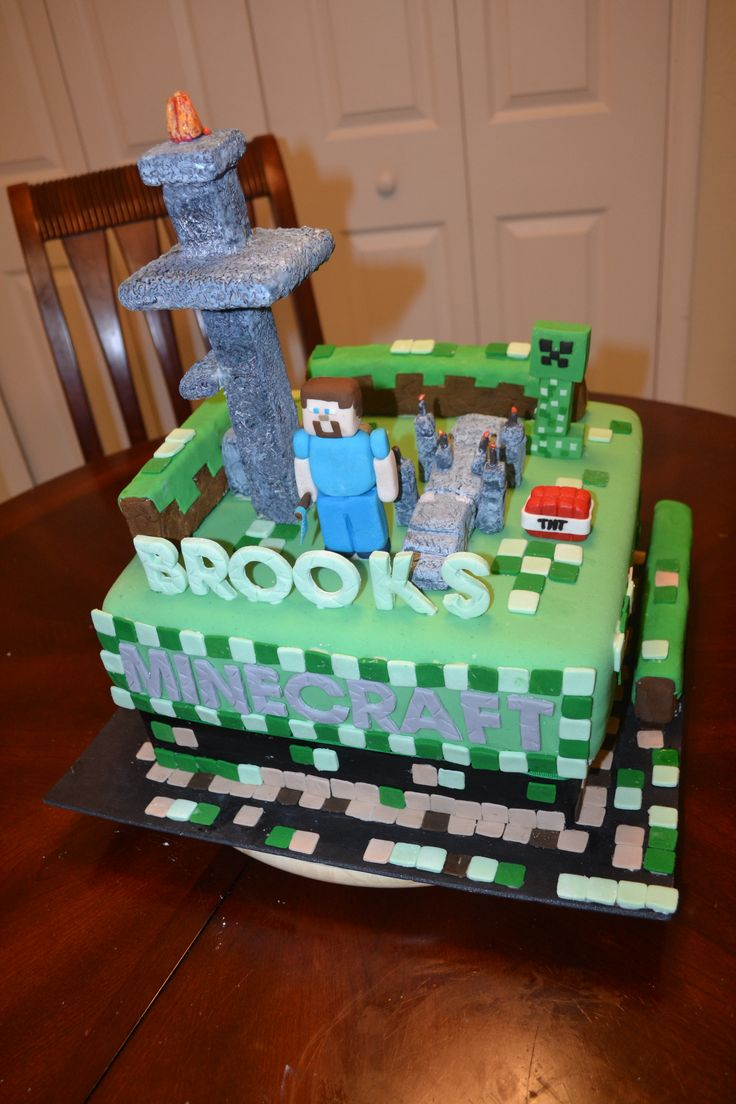 Minecraft Cake By Quot All About The Cake Quot Melbourne Fl