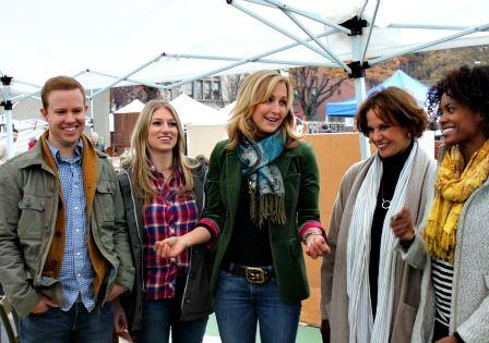Lara Spencer hosting Flea Market Flips...Friday nights on HGTV
