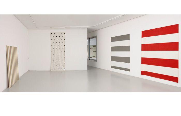 Salle BMPT (Daniel Buren - Olivier Mosset - Michel Parmentier - Niele Toroni) © françois fernandez
