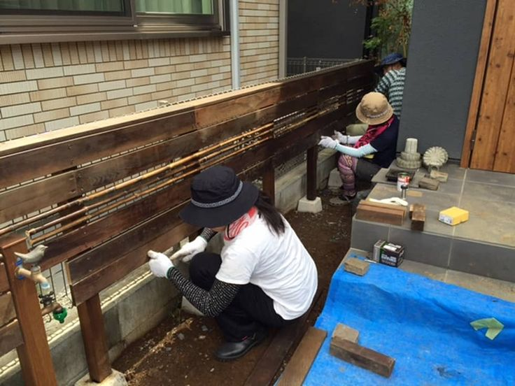 DIY GARDEN PROJECT#1: Shikinowa Designが手掛けた庭です。