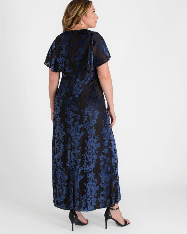Kiyonna Womens Plus Size Parisian Dream Evening Gown 17