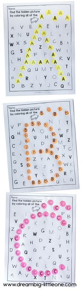 This is a fun no-prep dauber literacy printable activity for preschoolers and kindergarteners that practices alphabet lowercase and uppercase letters. It can also be used for prek 3 year olds to help them become familiar with letters. The child needs to find a specific letter and dab it. If they have found all of the letters correctly the letter being learned will be revealed upon completion which gives you a quick assessment that they did the activity correctly. These literacy worksheets…