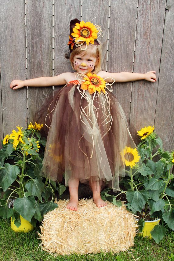 Scarecrow Tutu Costume  straps can be added by FrostingShop, $75.00