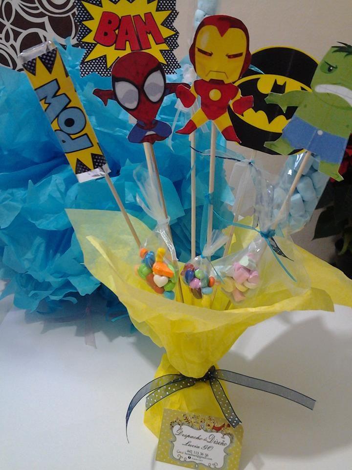 Centros de mesa para ni os dise o 2 mesa de dulces - Mesas para cumpleanos infantiles ...