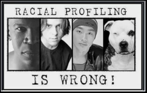Do you think everything isn't racial profiling?