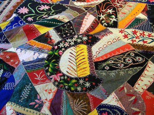 1698 best Crazy quilting... images on Pinterest | Embroidery ... : making a crazy quilt - Adamdwight.com