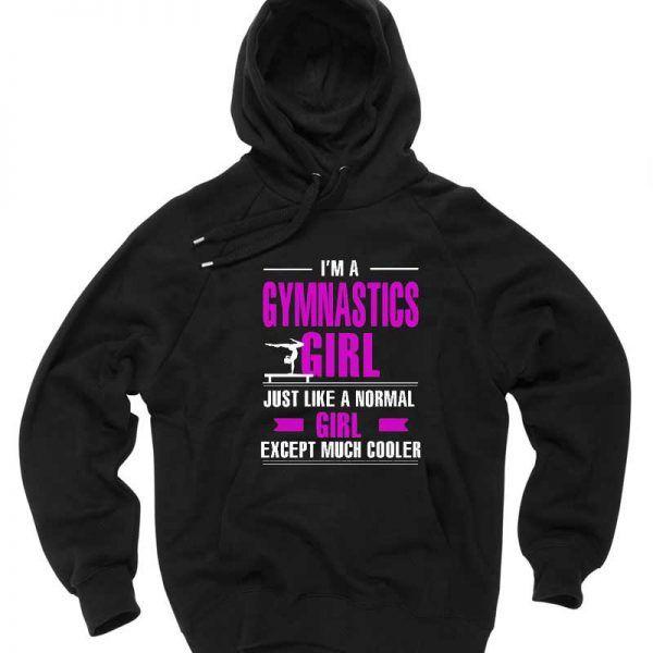 I'm a Gymnastics Girl Unisex Adult Hoodie