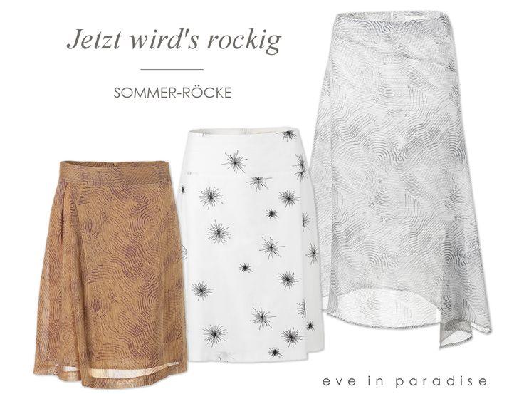 Midi, Mini, Maxi... wir ❤ sie alle! ☺Lernt jetzt unsere aktuellen #Rock Modelle kennen. #röcke #sommermode