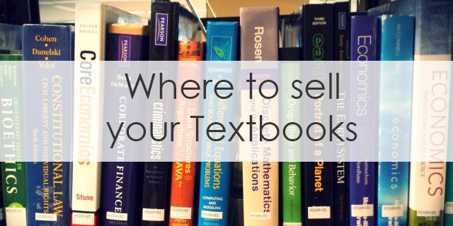 Where to sell your textbooks and make the most money - StudentRate