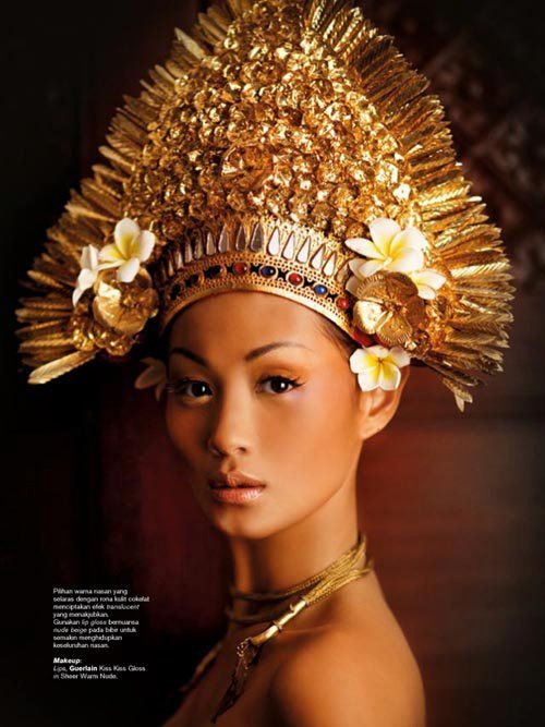 Jade in The Palace: Indonesian traditional make up