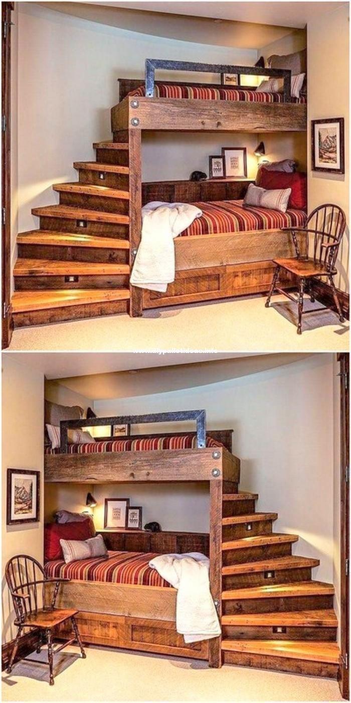 50 Wonderful Pallet Furniture Ideas And Tutorials Cheap Farmhouse Furniture Furniture In 2020 Pallet Projects Furniture Pallet Home Decor Pallet Ideas For Bedroom