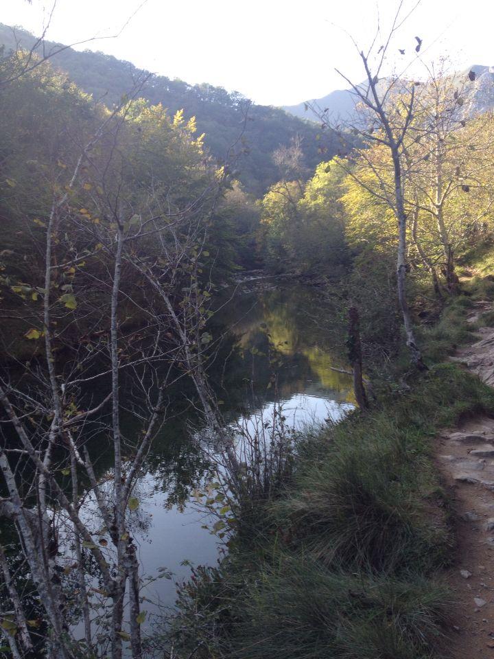 Rió Dobra, #Asturias: segundo río más limpio de Europa.