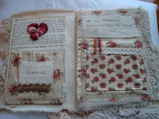 fabric book by The English Romantic: All in a days work.