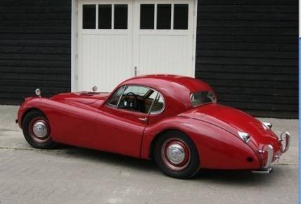 1951 Jaguar XK120 Fixed Head Coupe LHD #VCI #vintagecars #classiccars