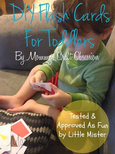 DIY Flash Cards for Toddlers